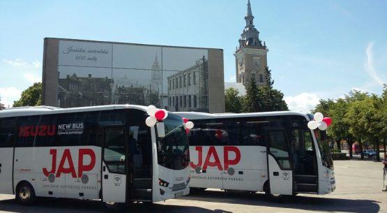 ISUZU Autobusai – patikimi