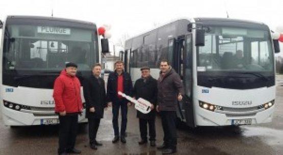 Džiugi naujiena! Plungėje – dar vienas naujas autobusas