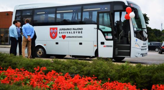 Atsinaujino Jurbarko autobusų parkas