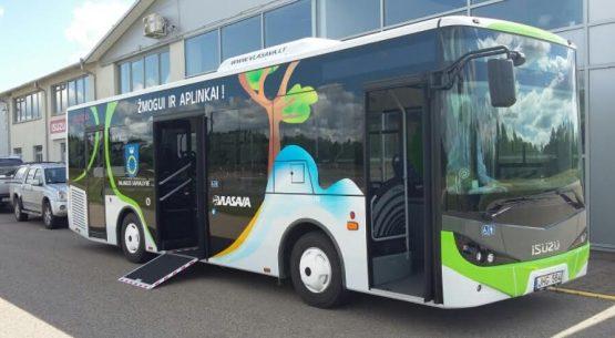 Nauji miesto autobusai – Palangai