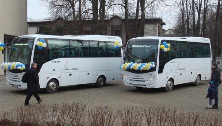 Nauji ISUZU autobusai – Trakų gyventojams