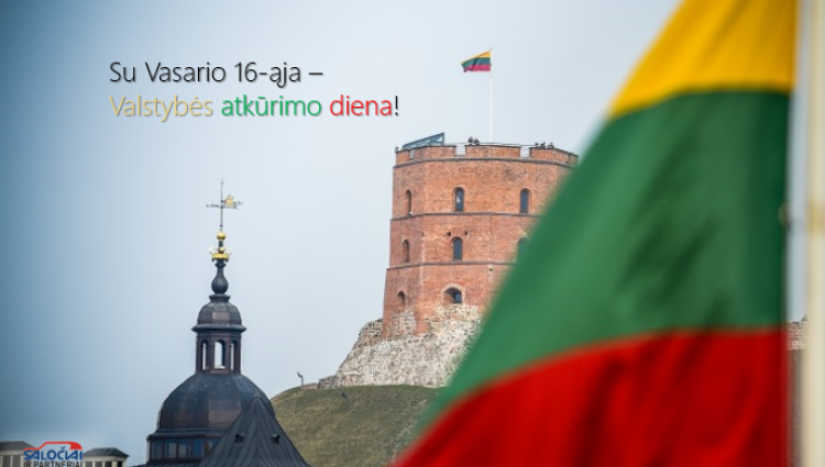Atkurtai Lietuvai – 100 metų!