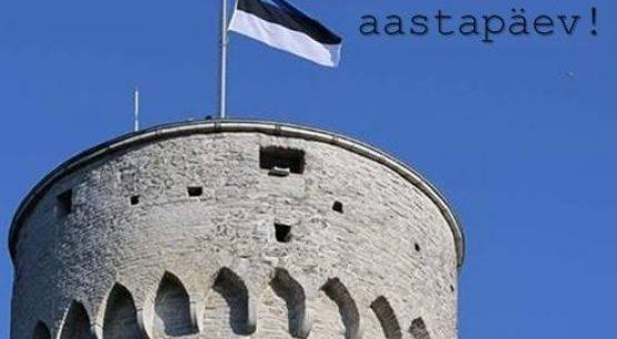 Sveikiname Estiją su nepriklausomybės šimtmečiu!