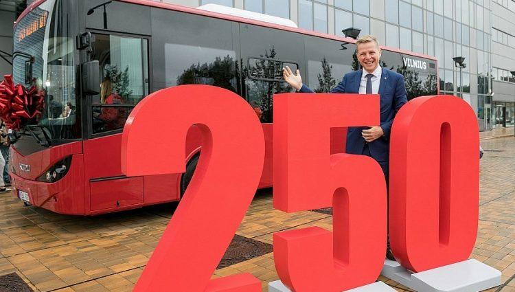 Prasideda didžiausias Vilniaus istorijoje viešojo transporto atnaujinimas