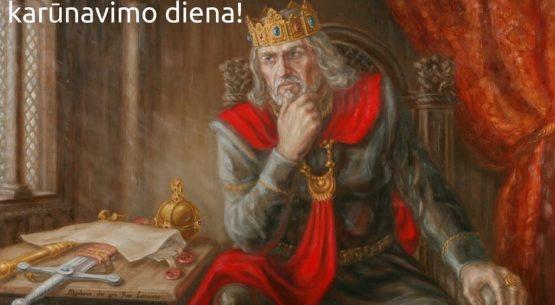 Karaliaus Mindaugo karūnavimas