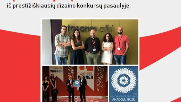 Isuzu komanda – metų inovatoriai
