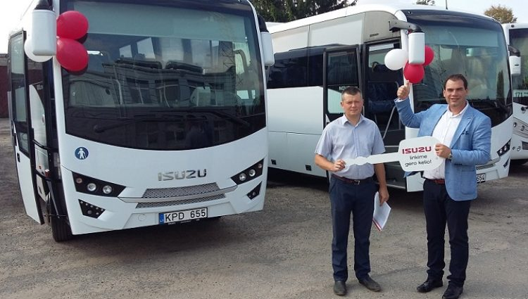 There are two new buses in the Vilnius District Bus fleet