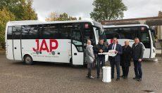 Atsinaujino dar vienas šalies autobusų parkas