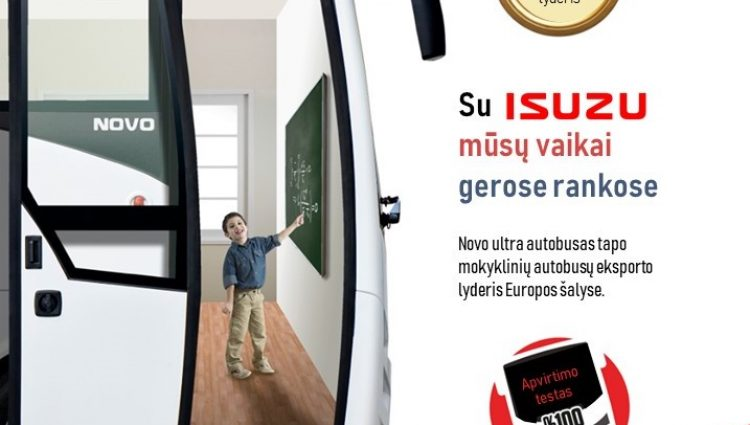 "ISUZU ""Novo Ultra"" mokyklinis autobusas"
