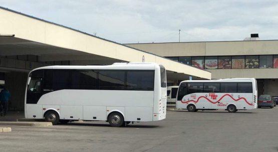 Iš Vilniaus stoties ISUZU demo Turquoise rieda Šalčininkų kryptimi. Šok į autobusą – keliauk patogiai!