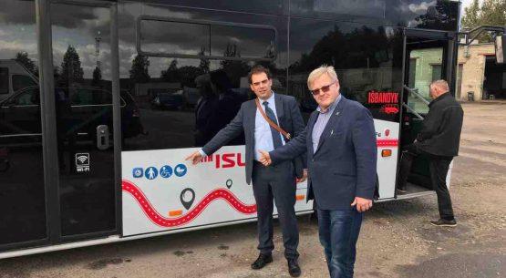 Kaišiadorių gyventojai išbando demo turo autobusą