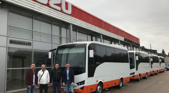 Nauji Novo Ultra autobusai keleivių pervežimams