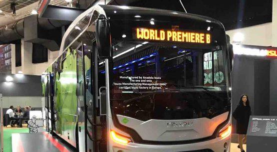 """ISUZU naujienos """"Busworld Europe 2019"""" parodoje"""
