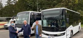 Dar 2 ISUZU autobusai Ukmergės autobusų parkui